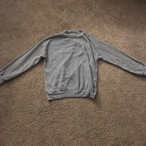 Small Gray Sweatshirt